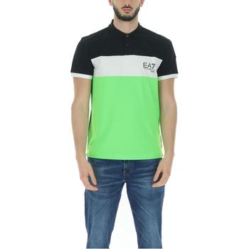 Abbigliamento Uomo T-shirt maniche corte Emporio Armani EA7 3KPF12PJ6RZ verde