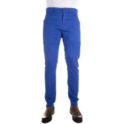 Abbigliamento Uomo Chino Jeckerson P00UPA104 azzurro