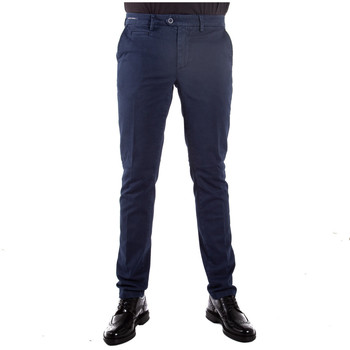 Abbigliamento Uomo Chino Teleria Zed ROBIN FNS blu