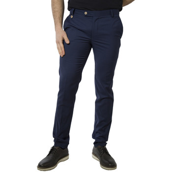 Abbigliamento Uomo Chino Lebole 800043L64ZJ blu