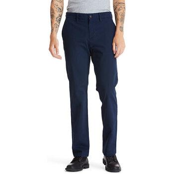 Abbigliamento Uomo Chino Timberland TB0A2BZA433 blu