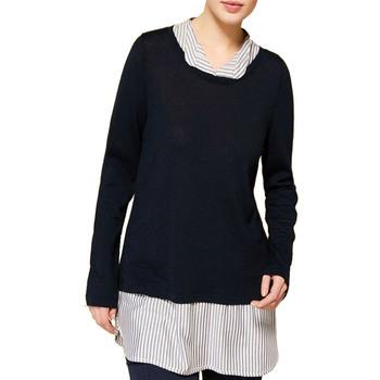 Abbigliamento Donna Maglioni Persona 1364158 blu