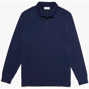 Abbigliamento Uomo Polo maniche lunghe Lacoste PH2481 blu