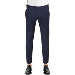Abbigliamento Uomo Chino Entre Amis A2081881540L17 blu