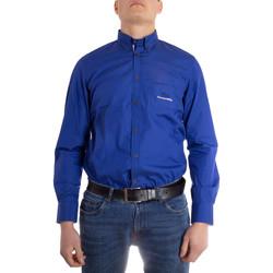 Abbigliamento Uomo Camicie maniche lunghe Harmont E Blaine CRE608008799M azzurro