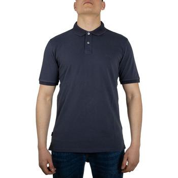 Abbigliamento Uomo Polo maniche corte Woolrich WOPO0012MR melton blu