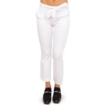 Abbigliamento Donna Chino Liujo WA1113T4810 bianco
