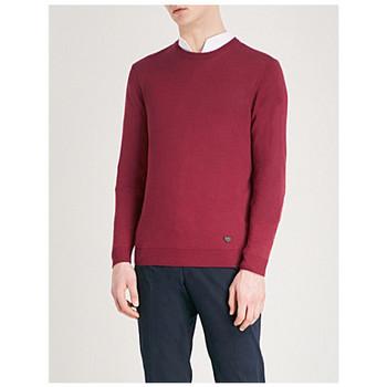 Abbigliamento Uomo Maglioni Armani 3Z1MTE1MB3Z rosso