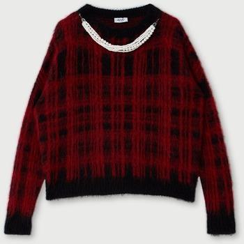 Abbigliamento Donna Maglioni Liujo MF0158MA75I rosso