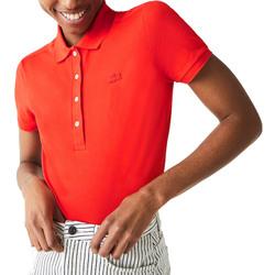 Abbigliamento Donna Polo maniche corte Lacoste PF5462 arancio