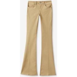 Abbigliamento Donna Pantaloni 5 tasche Liujo WXX036T7144 beige