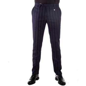 Abbigliamento Uomo Chino Manuel Ritz 2732P1858193631 blu