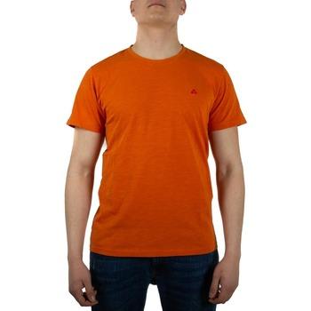 Abbigliamento Uomo T-shirt maniche corte Peuterey PEU3518FIM arancione