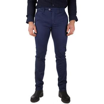 Abbigliamento Uomo Chino Teleria Zed ROBIN TL blu