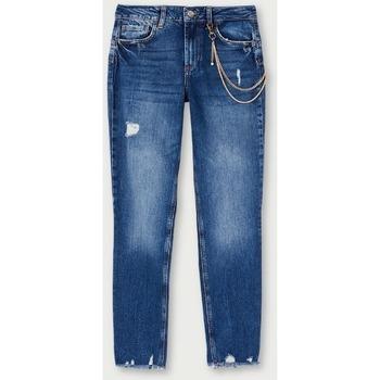 Abbigliamento Donna Jeans slim Liujo UF0034D4524 denim