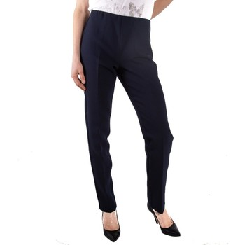 Abbigliamento Donna Chino Lineaemme Marella 51360999 blu