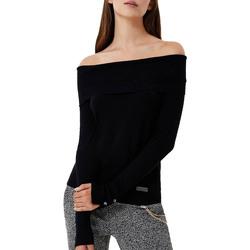 Abbigliamento Donna Maglioni Liujo MF0077MA49I nero
