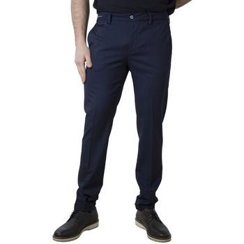 Abbigliamento Uomo Chino Teleria Zed EDWARD TT blu