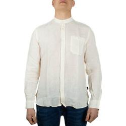Abbigliamento Uomo Camicie maniche lunghe Woolrich WOSI0028MR bianco