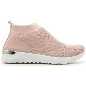 Scarpe Donna Sneakers alte Mio Tempo 2202 ROSA