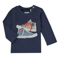 Abbigliamento Bambino T-shirts a maniche lunghe Ikks AURORE Marine