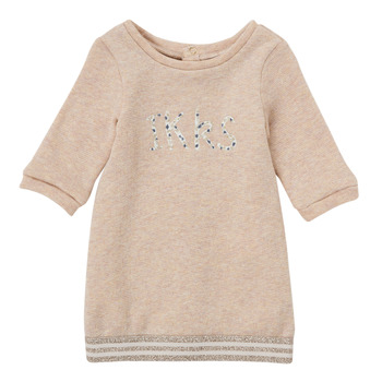 Abbigliamento Bambina Abiti corti Ikks CHAMOIS Beige