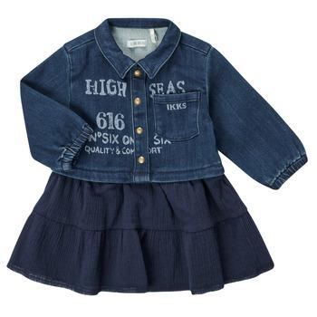 Abbigliamento Bambina Abiti corti Ikks CHATAIN Marine