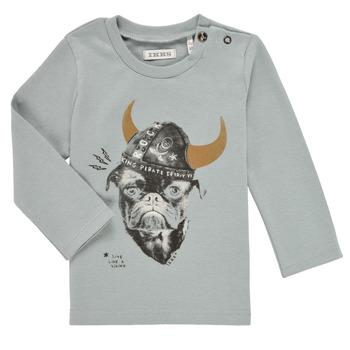 Abbigliamento Bambino T-shirts a maniche lunghe Ikks CHAUDRON Blu
