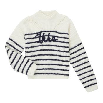 Abbigliamento Bambina Maglioni Ikks CITRON Bianco