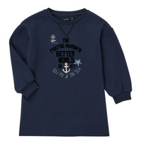Abbigliamento Bambina Abiti corti Ikks MANDARINE Marine