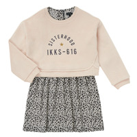 Abbigliamento Bambina Abiti corti Ikks MENTHE Beige