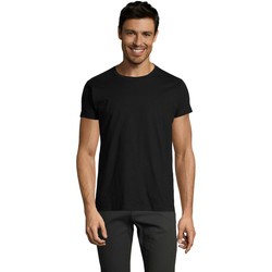 Abbigliamento Uomo T-shirt maniche corte Sols Camiseta IMPERIAL FIT color Negro Negro