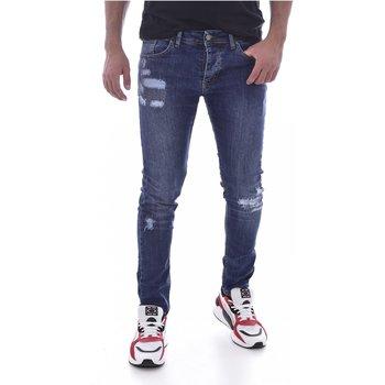 Abbigliamento Uomo Jeans skynny Goldenim Paris slim / skinny 210 - Uomo blu