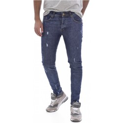 Abbigliamento Uomo Jeans skynny Goldenim Paris slim / skinny 201 - Uomo blu