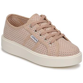 Scarpe Donna Sneakers basse Victoria  Rosa