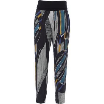 Abbigliamento Donna Pantaloni morbidi / Pantaloni alla zuava Manila Grace P295VS MA043 - OFFWHITE