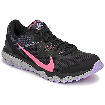 Scarpe Donna Running / Trail Nike WMNS NIKE JUNIPER TRAIL Nero / Rosa