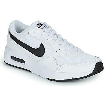 Scarpe Unisex bambino Sneakers basse Nike NIKE AIR MAX SC (GS) Bianco / Nero