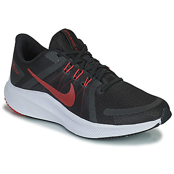 Scarpe Uomo Running / Trail Nike NIKE QUEST 4 Nero / Rosso
