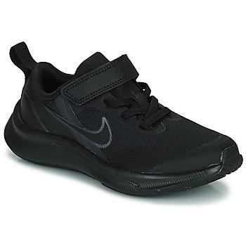 Scarpe Unisex bambino Running / Trail Nike NIKE STAR RUNNER 3 (PSV) Nero