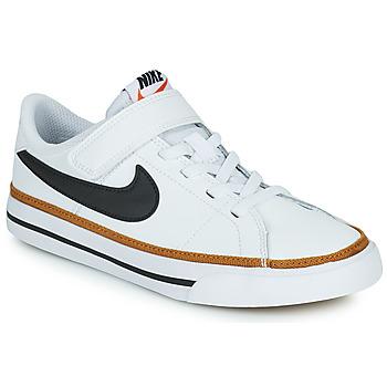 Scarpe Unisex bambino Sneakers basse Nike NIKE COURT LEGACY (PSV) Bianco / Nero