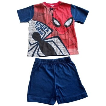 Abbigliamento Bambino Pigiami / camicie da notte Spiderman Pigiama Multicolore