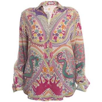 Abbigliamento Donna Camicie Etro CAMICIA IN CREPE DE CHINE Multicoloured