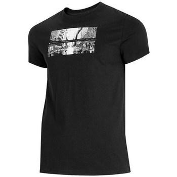Abbigliamento Uomo T-shirt maniche corte 4F TSM025 Nero