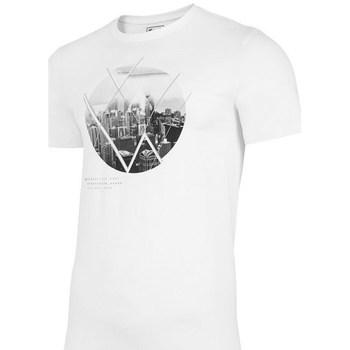 Abbigliamento Uomo T-shirt maniche corte 4F TSM023 Bianco