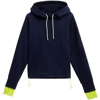 Abbigliamento Unisex bambino Felpe 4F BLD025 Blu marino