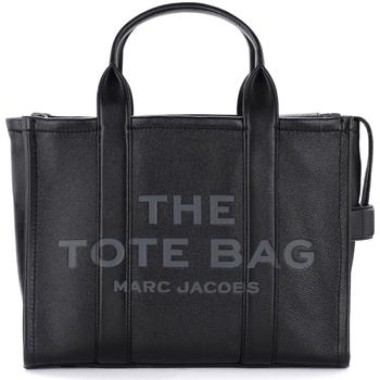 Borse Donna Borse a mano Marc Jacobs Borsa The  The Leather Small Traveler Tote Bag Nero