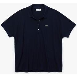Abbigliamento Donna Polo maniche corte Lacoste PF6181 Blu