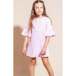 Abbigliamento Bambina Abiti corti Vicolo 3146V0468 Vestito Bambina ROSA/BIANCO ROSA/BIANCO