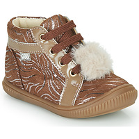 Scarpe Bambina Sneakers alte GBB ISAURE Beige